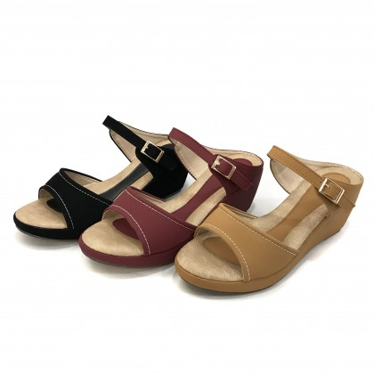 VERN'S Wedges Mule Sandals - S04028510
