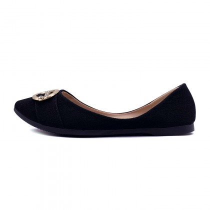 VERN'S Pointed Toe Flat - S11031210